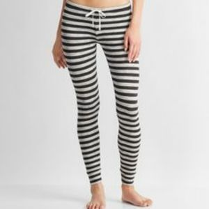 Live love dream striped french Terry lounge pants